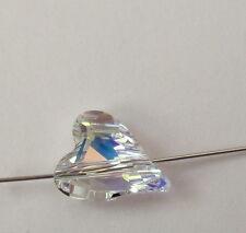 1 Swarovski® Kristall Perlen Wild Heart Bead CRYSTAL AB 17mm Art. 5743