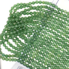 4MM Natural Faceted Jade /Tourmaline/Onyx Round Gemstone Loose Beads 15'' AAA