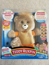 BRAND NEW Teddy Ruxpin 2017 Animated Storytelling Bluetooth Bear ORIGINAL OUTFIT