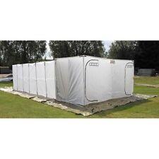 MFH Britisches Zelt Weiß 25 Personen Armeezelt Gruppenzelt 7,2x4x2m Neuwertig