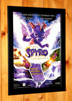 The Legend of Spyro A New Beginning Small Poster Ad Page Framed PS2 GBA GameCube