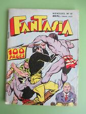 FANTASIA N° 19 edi-europ de 1958 Black-Boy Chott