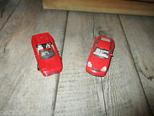Lot de 2 Véhicules : Porsche 911 GT 2 Solido - Ferrari F355 Universal Hobbies