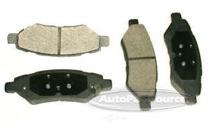 Disc Brake Pad Set-Semi-metallic Pads Rear Tru Star PPM1337