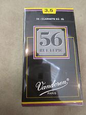 Vandoren Rue Lepic 56 #3 1/2 Bb Clarinet Reeds