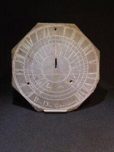 Antique Welsh slate sundial