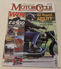 Classic MC May 2004 AJS 16MS, Alldays Matchless, Italjet-Jawa, Ambassador 3 Star