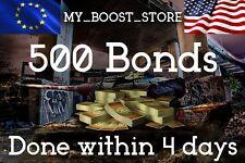 World Of Tanks (WOT) 500 Bonds - Unikum play | 3 days |NOT BONUS CODE