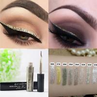 Glitter Liquid Eyeshadow Set Waterproof Sparkle Eyeliner Long Lasting Makeup Eye