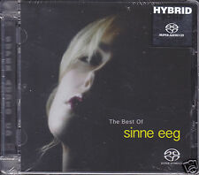 """""""Sinne Eeg - The Best Of"""" Stereo Hybrid SACD Audiophile Female Jazz Vocal CD"""