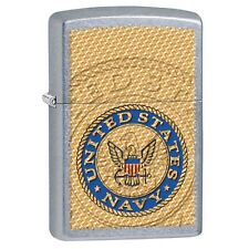 Zippo 29384, United States Navy Seal, Street Chrome Lighter, Full Size
