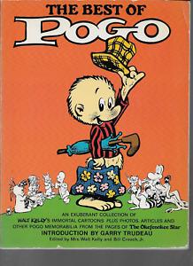 The Best of Pogo by Bill Crouch Jr. and Walt Mrs. Kelley 1982, PB Fireside