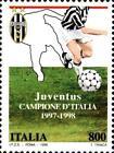 # ITALIA ITALY - 1998 - Juventus Winner - Calcio Football Soccer Sport Stamp MNH