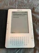 Amazon Kindle D00701 White Electronic Book E-Book Reader 2GB Free Shipping!