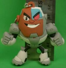 New listing Monogram Figural Teen Titans Go! Cyborg 3D FoamKeyring Key Chain Dc Comics
