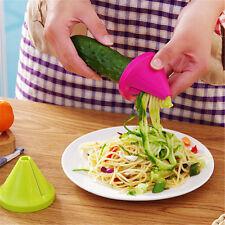 New Kitchen Funnel Model Spiral Slicer Vegetable Shred Carrot Radish Cutter