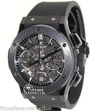 Hublot Classic Fusion 45mm Chronograph Black Magic Mens Watch 525.CM.0170.RX