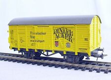 Roco HO 1/87 Deutsche Bundesbahn DB DINKELACKER BIER GOODS WAGON Mint`85 RARE!