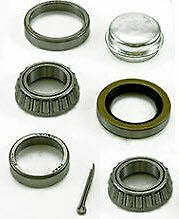 "Trailer Wheel Bearing Kit # BT3 (FITS MOST 1 1/16"" STRAIGHT SPINDLES)   see ship"