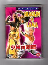 Shaolin Vs Lama (DVD) Alexander Lo, (PAL FORMAT) REGION TWO! BRAND NEW!