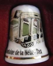 Dé à coudre Fontaine de la Nèhe Dax Thimble #54