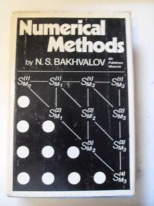 BAKHVALOV S. NUMERICAL METHODS  ED.PUBLISHERS MOSCOW 1°ED.1977