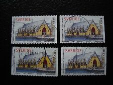 SUEDE - timbre yvert et tellier n° 2023 x4 obl (A29) stamp sweden (R)