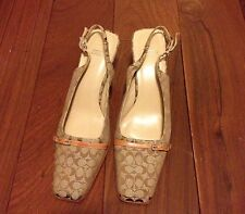 Coach Shoes Classic Canvas Shoes Hard To Find Size 37