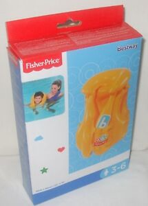 Fisher Price Toddler 3-6 Years Swim Swimming Vest Float Life Jacket