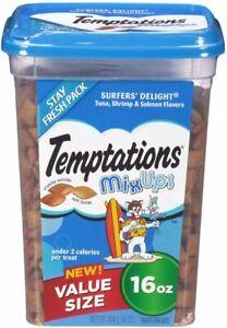 Temptations Cat MixUps Surfers Delight Treat 16oz