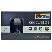 NEW 2019 LOOK KEO CLASSIC 3 Road Pedals with Gray Grip Cleats: BLACK