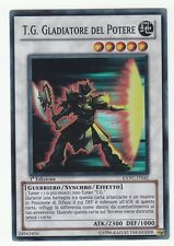 YU-GI-OH T.G. Gladiatore del Potere Super Rare italienisch T.G. Kraftgladiator
