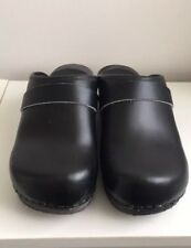Black Danish Clogs