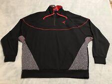 Air Jordan Sportswear Cement Retro 3 Vault 1/4 Zip Men's sz Large L 914522 010
