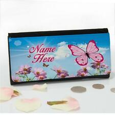 Personalised Butterfly Summer Flower Ladies Large Coin Purse Mum Gift SS001