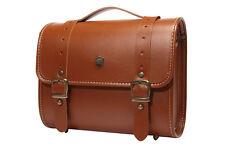 Luxury Leather DSLR Camera Bag Insert Case Messenger Shoulder Bag Preppie(Big)TB