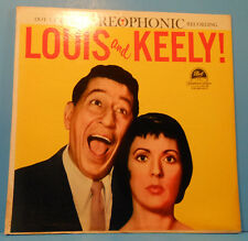 LOUIS PRIMA KEELY SMITH LOUIS & KEELY! LP 1959 ORIGINAL GREAT COND! VG++/VG+!!C