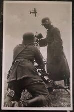 1935 Stuttgart Germany RPPC Postcard Cover To Heidenheim Pointing An Airplane
