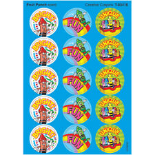 Creative Crayons/Fruit Punch Stinky Stickers® – Large Round Trend Enterprises In