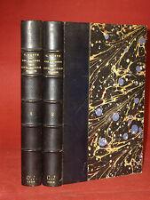LES ORIGINES DE LA CIVILISATION MODERNE - KURTH [Godefroid] 2 volumes - 1898