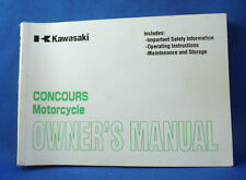 Kawasaki Concours 2001 ZG1000-A16 Owner's Manual, 160 pages-FREE SHIPPING-l