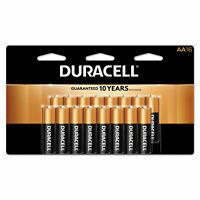 Duracell CopperTop Alkaline Batteries with Duralock Power Preserve Technology AA