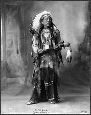 Photo. 1890s. Black Man - Arapaho Native American Indian