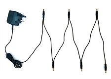 9 V Efectos De Guitarra Pedal adaptador de fuente de alimentación y 6 manera cadena de Margarita plomo VOODOO LAB
