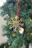 Fuck2020 Snowflake Christmas Ornaments (fuckflake) Best ever C.O.V.I.D gift