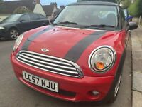 Mini Cooper Red 2007 (57) - Fabulous little car! 6 - speed gearbox!