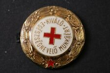 Hungary Hungarian Red Cross Excellent Health Education Badge Medal Communist