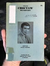 New listing English Choctaw Dictionary • David Gardner Native American Indian 1st Edition