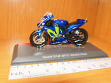 YAMAHA YZR-M1 2017 MAVERICK VIÑALES 1/18 MOTO-GP MONSTER ENERGY MOVISTAR #25