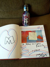Art of Peter Max SIGNED 1st ED/1st PRINTING w/Color Heart Drawing & LTD Max Tea!